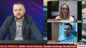 Rozmowa w TVPowiat  – Dorota Todorska, Paweł Ksionek